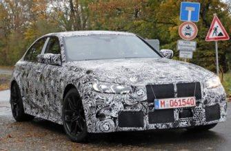 Новый BMW M3