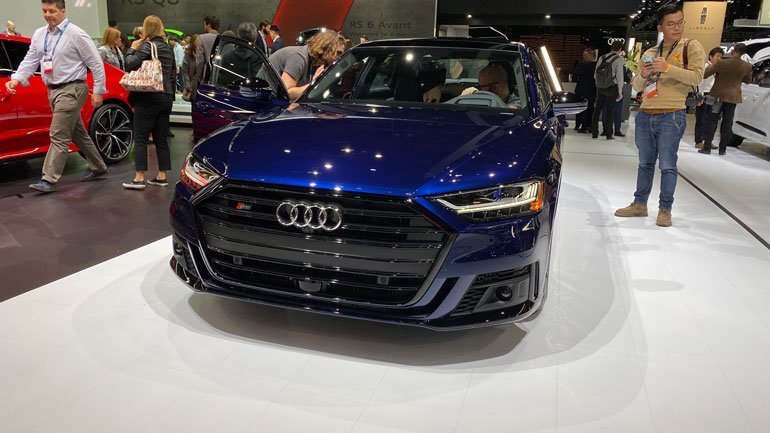 Новая Audi S8