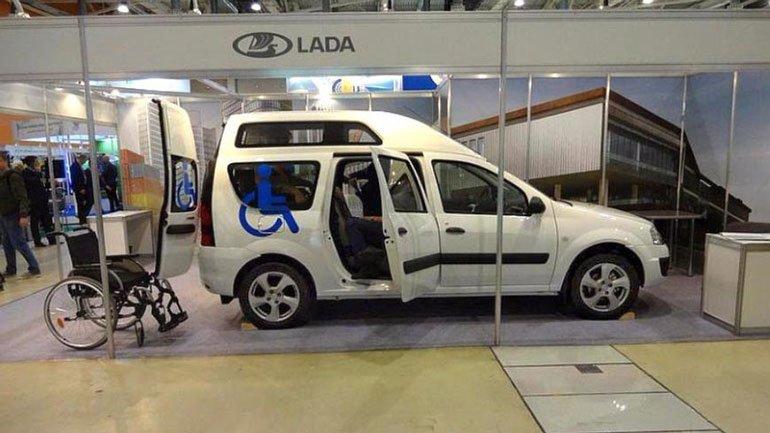 LADA Largus для колясочников