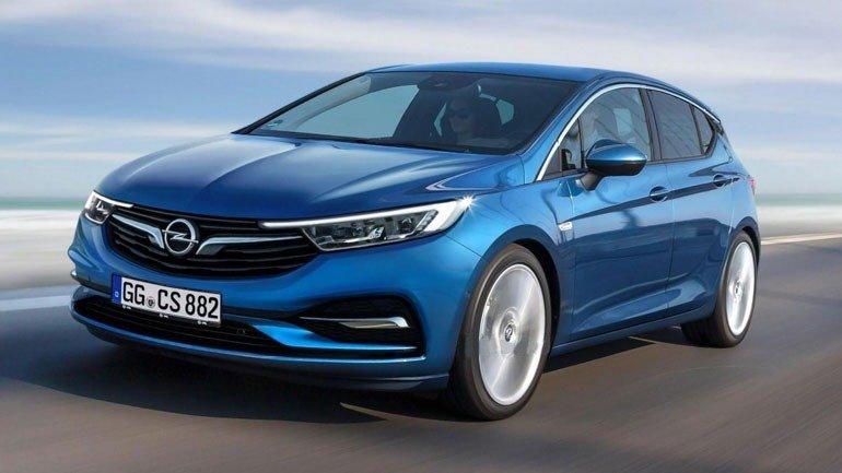 купе Opel Astra 2020