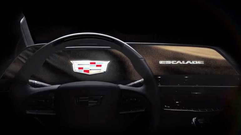 Салон Cadillac Escalade 2021