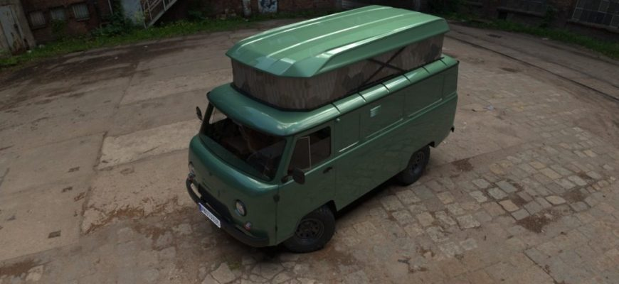 УАЗ выпустит кемпер на базе «Буханки»