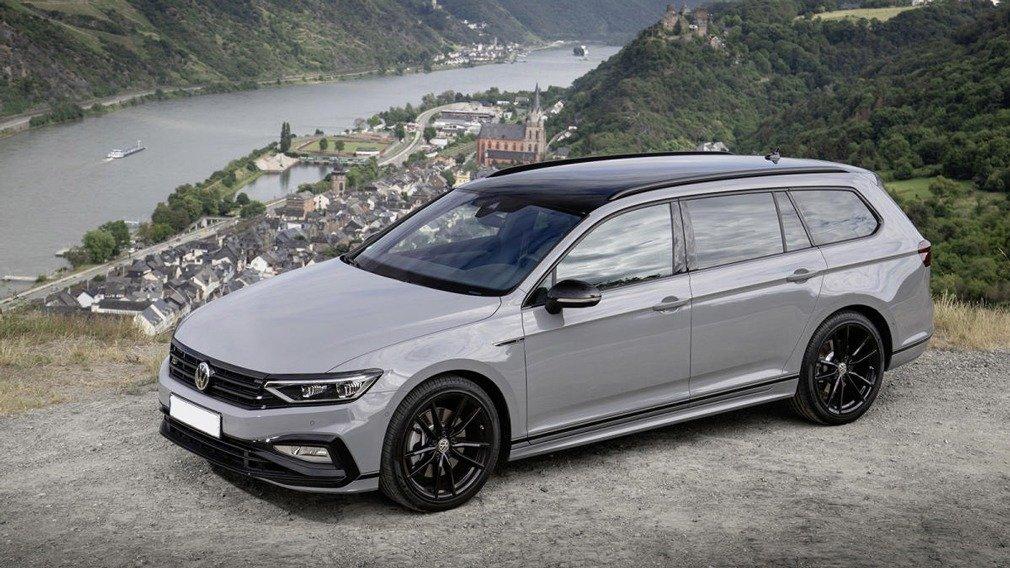 Volkswagen Passat с солнечной батареей