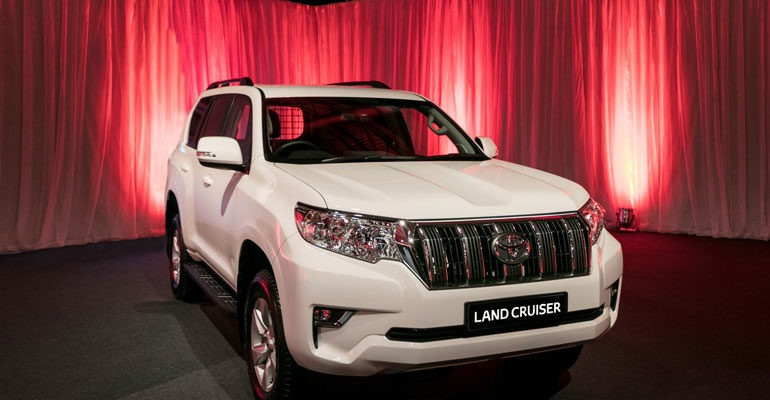 Land Cruiser Commercial 2020