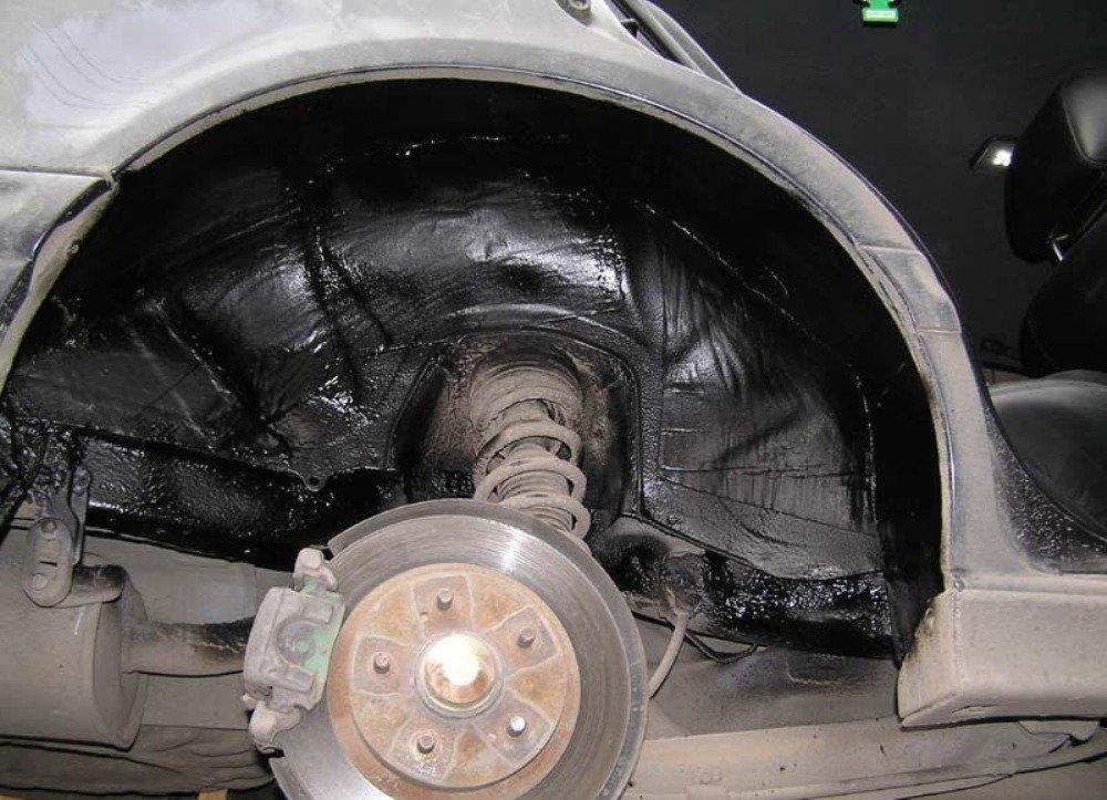 Уменьшаем шум в авто при помощи подкрылков