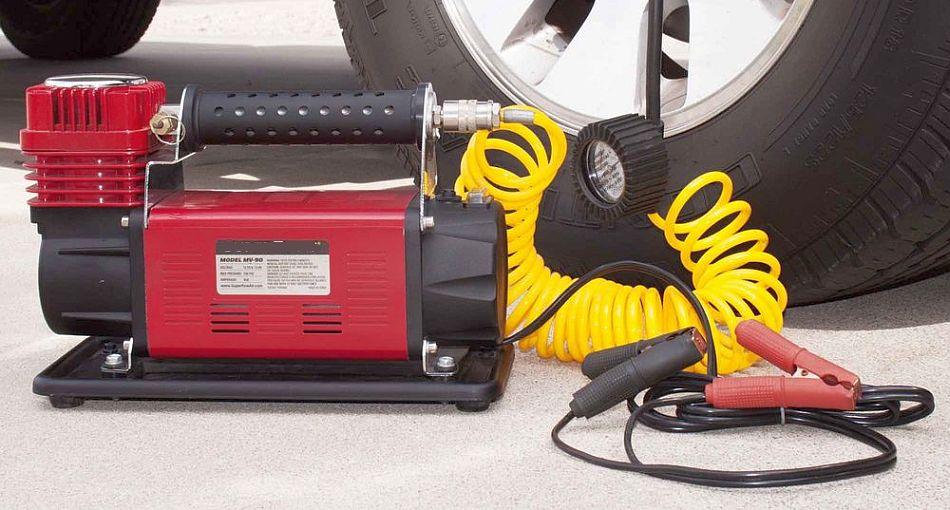 Выбираем компрессор для подкачки шин автомобиля