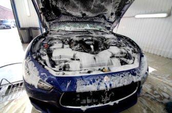как помыть двигатель самостоятельно
