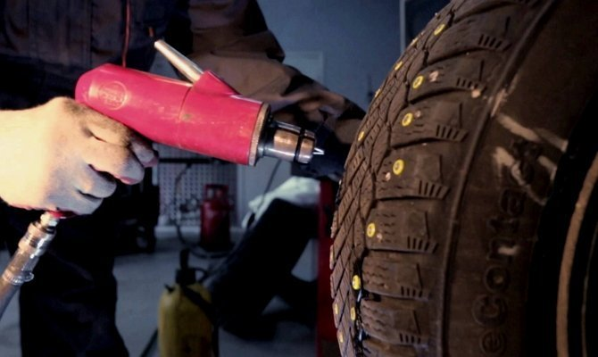 Ошиповка: устанавливаем ремонтные шипы своими руками