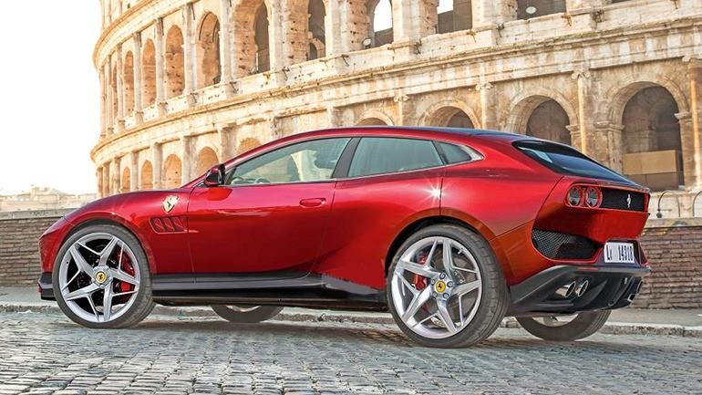 Внедорожный кроссовер от Ferrari