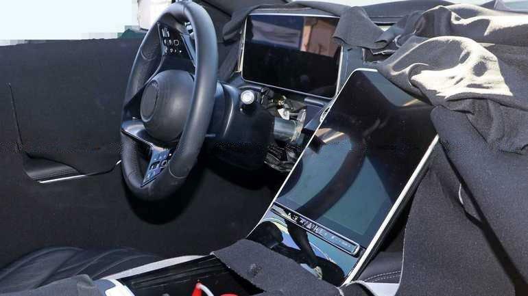 Салон Mercedes-Benz S-Class 2020