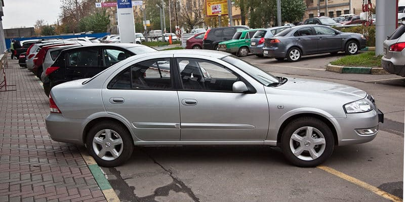 Автомобиль с пробегом за 350 тыс. рублей