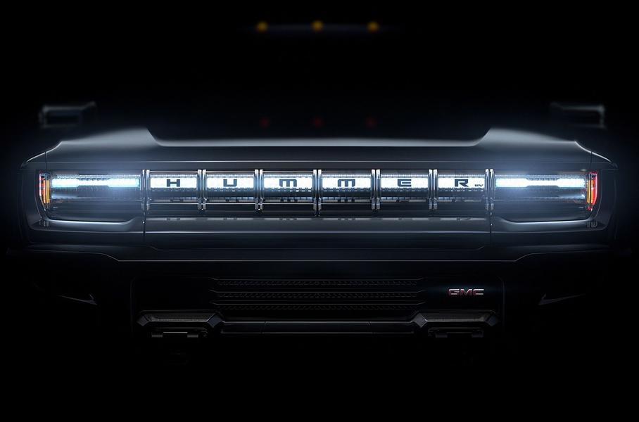 электрический пикап Hummer EV