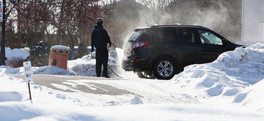 Стоит ли мыть автомобиль зимой?