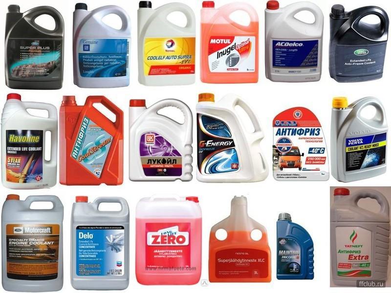 Охлаждающая жидкость для автомобиля