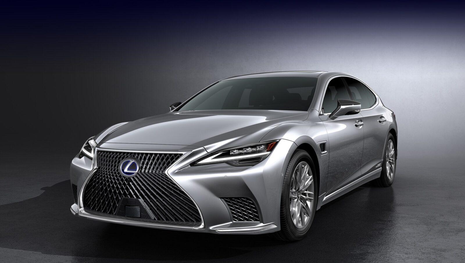 Новый Lexus LS 2021 модельного года