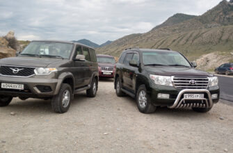UAZ Patriot с АКПП vs Toyota Land Cruiser б/у