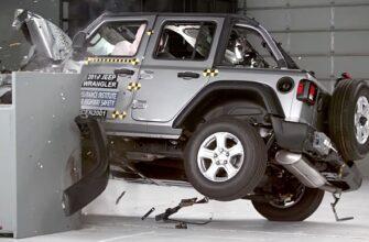 Итоги краш-теста с перевернутым Jeep Wrangler