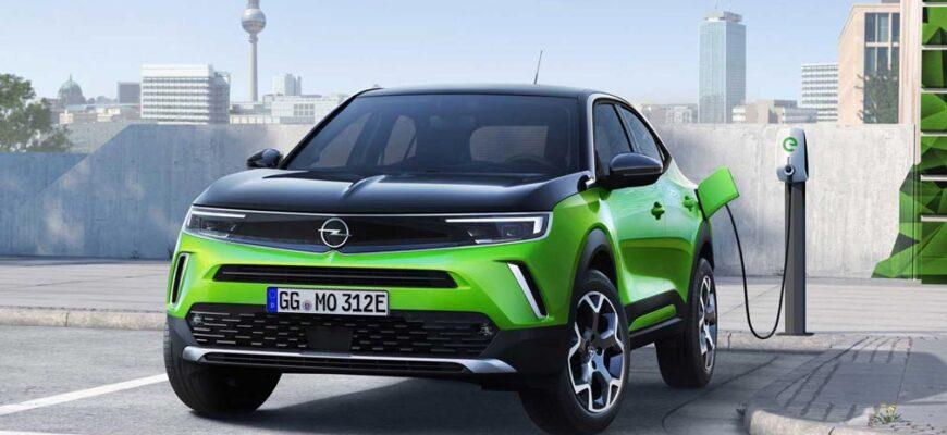 Opel представил обновленный кроссовер Opel Mokka