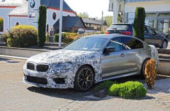 обновленный BMW M5 2021 модельного года