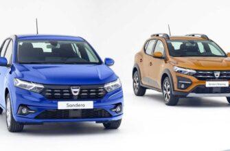 Renault-Dacia представили обновленные Logan и Sandero 2021